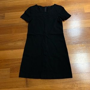 Theory black dress size 0 good condition